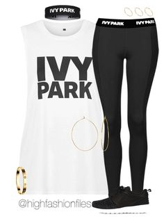 """Ivy Park"" by highfashionfiles ❤ liked on Polyvore featuring Topshop, Ivy Park, NIKE, Phyllis + Rosie, ASOS and Cartier"