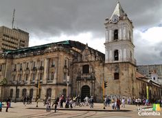 San Francis church - Bogota, Colombia #placesihavebeen