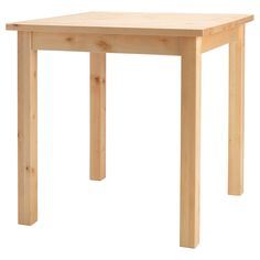 NORDEN Table - IKEA This stained + Hairpin legs could be a cool table