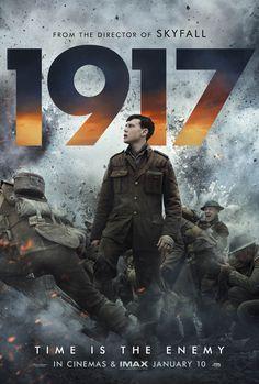 """""""1917"""" movie poster, 2019. 2020 Movies, Hd Movies, Movies To Watch, Movies Online, Movie Tv, Action Movies, Drama Movies, Movie Cast, Movie Scene"""