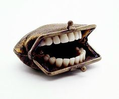 ...with teeth    by Nancy Fouts