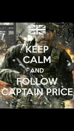 Captain price is best captain