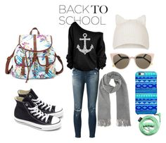 Back to School:Denim Guide Contest by lastmoon on Polyvore featuring polyvore, fashion, style, J Brand, Converse, Charlotte Russe, Acne Studios, Topshop, Uncommon, Fendi, Urbanears and BackToSchool