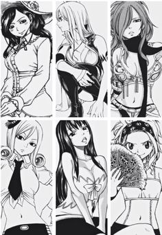 Fairy Tail Edo-Girls!!!!!! >~< ||Fairy Tail Girls|| #Fairy Tail