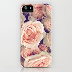 Pink Roses In A Bubble iPhone & iPod Case by Love2Snap - $35.00