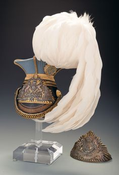 Empress of India's Lancers Officer's Czapka with an Additional Lance Cap Plate British Army Uniform, British Uniforms, Military Cap, Military Uniforms, Military Style, Lion And Unicorn, Military Costumes, Arm Armor, Military Fashion
