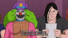 Dr Rockso...FOAD