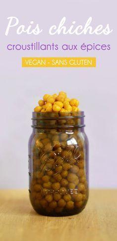 En manque d'idées pour un apéro vegan, sans gluten et super healthy ? Testez les pois chiches croustillants aux épices, à faire au four !