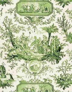 Green toile.