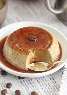 Weekend perk: coffee-flavored flan. See the recipe on the Etsy Blog. #DIY #yum