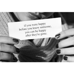 You can be that happy again.