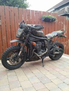 Stevie Ming's 'Skirmisher' (courtesy of Matt Black Ratt group on Facebook).  https://www.facebook.com/groups/92478729566/  Might just be one of my favorite bikes.
