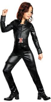 Girls The Avengers Black Widow Costume - Party City