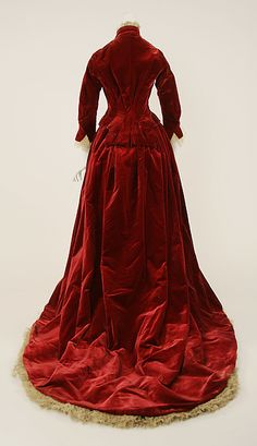 Evening ensemble (image 3) | American | 1884 | no medium available | Metropolitan Museum of Art | Accession Number: 37.93a–d