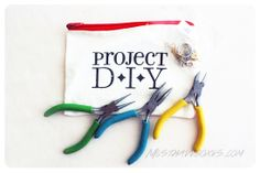 October 2013 Project DIY: Project DIY Starter Kit. Your very first Project DIY box will include a FREE Starter Kit which provides the tools and goodies you need to make the monthly DIY accessory projects. Price: USD $30/month -- #projectdiy #handmade #accessories #diy #jewelry #subscriptionbox #fashion #necklace #brooch #collar