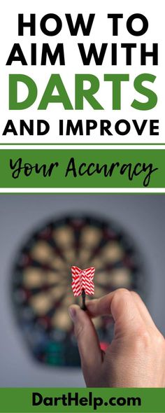 To aim a dart you must bring it up to your dominant eye and make a direct line of sight between your eye, the dart, and your target before throwing. Dartboard Cabinet Diy, Cork Dartboard, Best Darts, Throwing Games, Darts Game, Play Darts, Direct Line, Improve Yourself, Finding Yourself