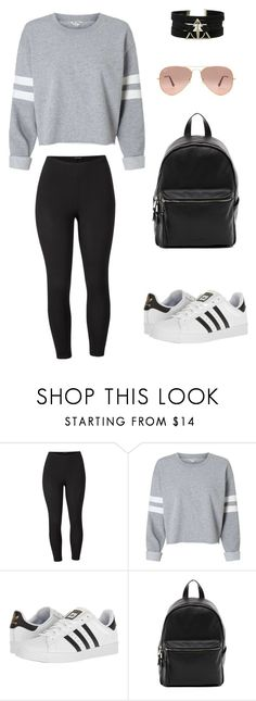 """""""Summers Day"""" by elementarydearwatson on Polyvore featuring Venus, adidas, French Connection, Ray-Ban and plus size clothing"""