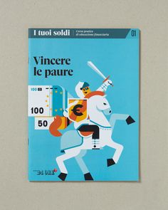 """15 cover illustrations made for """"I tuoi soldi"""" (Your money, in english) a series of booklet published by Il Sole 24 ORE.AD: Francesco Narracci and Antonio MissieriPhoto: Davide Farabegoli @ Uovo Lab"""