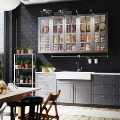 The #kitchen Envy Is Real   Double Tap If You Love This #IKEA SEKTION
