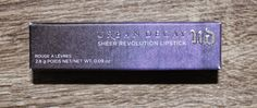 Beyond Blush: Urban Decay Sheer Revolution Lipstick in Sheer Obs...
