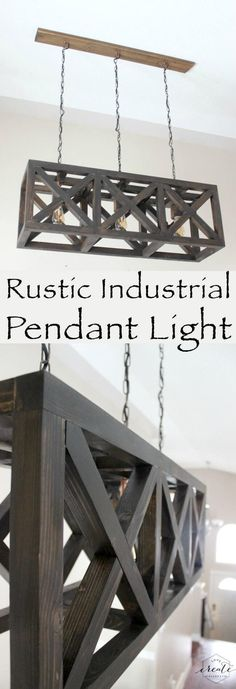 Industrial Farmhouse-Style Pendant Lighting