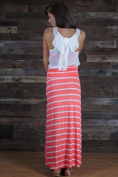 Read Between the Line Maxi Skirt