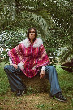 Ponchos Boho, Ibiza, Boho Chic, Hearts, Passion, Collection, Fall Winter, Coats, Jackets