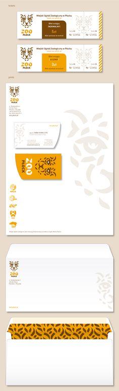 ZOO Płock_Corporate Identity by Łukasz Aleksandrowicz, via Behance
