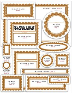 Free handmade crafters label branding kit by Cathe Holden