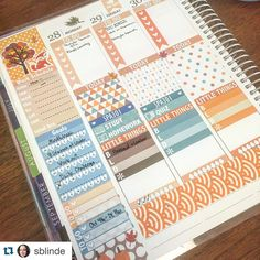 Hehe another regram from @sblinde!! Loving the light autumn colors!! Featured from my shop are the sidebar stickers and meal plan boxes!!  #kittikprintables #printables #printablesticker #printablestickers #plannerlove #plannernerd #planneraddict #plannercommunity #eclp #eclpweekly #weeklyspread by kittikplans