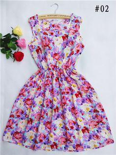 New Summer Style Fashion Dress