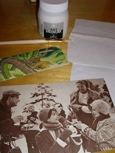 Ompelua ja kuvansiirtoa [photo transfer tutorial in Finnish] Photo Transfer, Screen Printing, Stencils, Prints, Dyi, Stamps, Screenprinting, Stamping, Postage Stamps