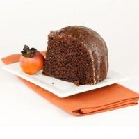 Moist Persimmon Pudding Cake Recipe