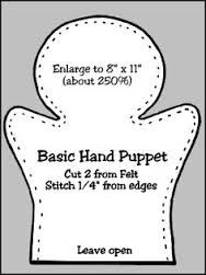 Image result for making hand puppets from felt