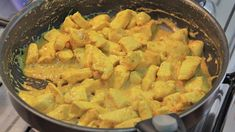 Frango ao Curry saudável 7