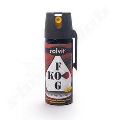 Pfefferspray KO-FOG Sprühnebel mit 11% Oleoresin Capsicum - 50ml    - über 2,5 Mio Scoville -