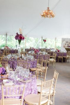Lavender and gold wedding    (Photography by Nina Mullins Photography / ninamullinsphotography.com)
