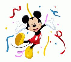 LINE Official Stickers - Mickey Mouse Polite Stickers Example with GIF Animation Mickey Mouse Pictures, Mickey Mouse Cartoon, Mickey Mouse And Friends, Disney Mickey, Disney Pictures, Happy Birthday Disney, Happy Birthday Video, Birthday Wishes Gif, Animated Emoticons