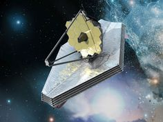 The James Webb space telescope - Due to launch in 2018 the 'JWST is the formal successor to the Hubble Space Telescope and the Spitzer Space Telescope. In fact, JWST will far surpass both those telescopes, being able to see many more and much older stars and galaxies. Observing in the infrared is a key technique for achieving this, because it better penetrates obscuring dust and gas, allows observation of dim cooler objects, and because of cosmological redshift.'