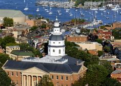 "Annapolis, Maryland, home of the US Naval Academy. My first ""real"" job was in Annapolis and I feel like I've crawled all over this town and yet I'm sure there is much I've not seen. Oh The Places You'll Go, Great Places, Places To Travel, Places Ive Been, Beautiful Places, Places To Visit, Amazing Places, Annapolis Maryland"