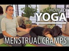 Yoga For Menstrual Cramps - Alleviate Menstrual Cycle Pain with Yoga.