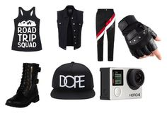 """""""Prompto"""" by jack-frampton ❤ liked on Polyvore featuring LE3NO, Thom Browne, 21 Men, Billabong, men's fashion and menswear"""