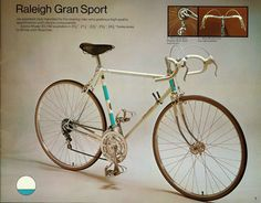 Raleigh Gran Sport road bike 1973