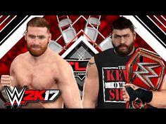 WWE 2K17 EPIC LADDER MATCH - SAMI ZAYN VS KEVIN OWENS (TLC PS4)