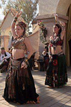 Belly dancers at the Renaissance Festival