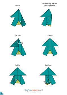 Paper Airplane Instructions – Fuselage - KidsPressMagazine.com