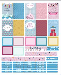 FREE Cupcake Birthday Printable by Luckicharms