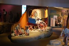An example of some of the exhibits at the National Historic Trails Interpretive Center, Casper, Wyoming Casper Wyoming, Great American Road Trip, What To Do Today, Oregon Trail, Mountain Trails, Vacation Pictures, Rocky Mountains, Places To See, Trip Advisor