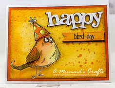 A Mermaids Crafts: Happy Bird-Day