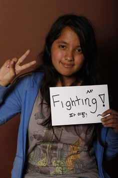 Fighting, Ana Montañez, Lic. En Ciencias del Lenguaje, UANL, Monterrey, México